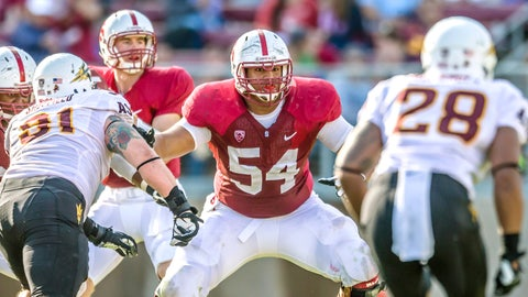Offensive guard: David Yankey, Sr., Stanford
