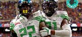 Oregon whips Texas and, just for kicks, every uniform it wore in 2013