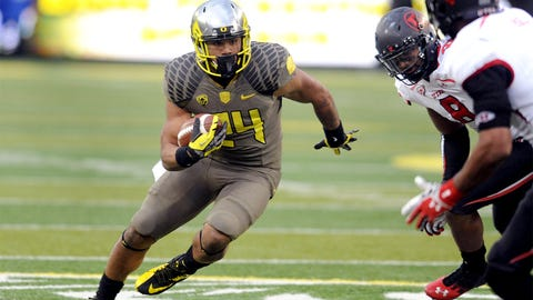 Thomas Tyner, RB, Oregon