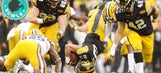 The outstanding and odd moments of the LSU-Iowa Outback Bowl