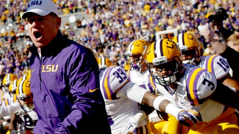 No. 4: LSU Tigers at Michigan Wolverines