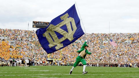 1. Texas at Notre Dame -- Sept. 5