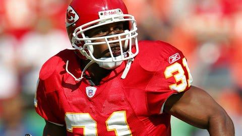 Priest Holmes, RB, Ravens/Chiefs (1997-2007)