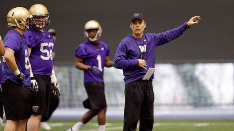 9. Washington Huskies: O/U 9 (13 games)
