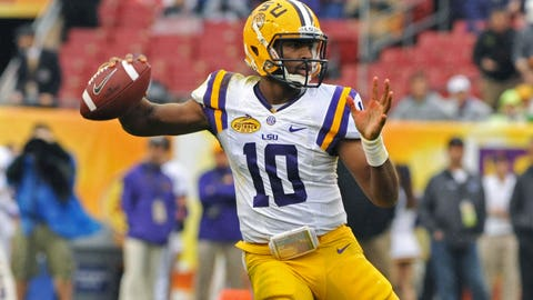 3. LSU's QB battle remains unsettled