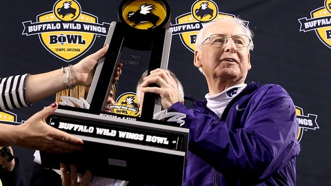 8. Bill Snyder, Kansas State (17)