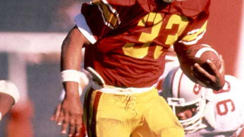 First Division I player to rush for 2000 yards – Marcus Allen, 1981