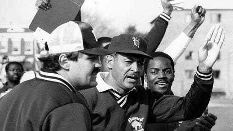 First Division I African-American head coach – Willie Jeffries