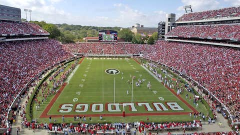 Sanford Stadium -- Georgia