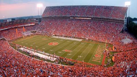 Clemson Memorial Stadium -- Clemson