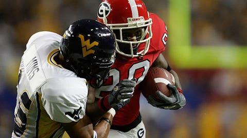 2006 - West Virginia shocks Georgia in Atlanta