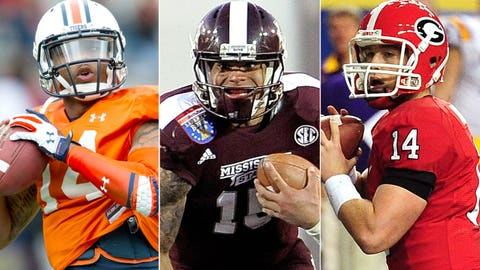 Ranking the SEC quarterbacks from best to 'most to prove'