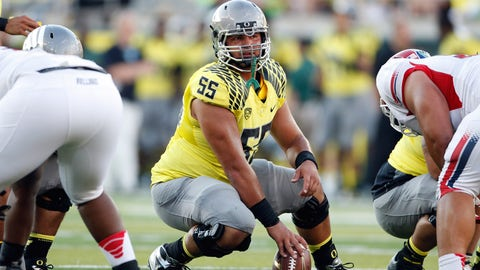 Rimington (best center): Hroniss Grasu, Oregon