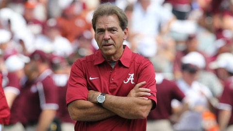 No. 2: Alabama Crimson Tide