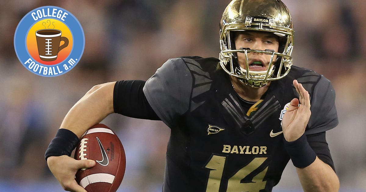 CFB AM  Baylor s Bryce Petty gives up-close view of 38-inch vertical ... a91a76484