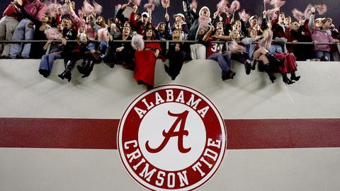 All 159 Bryant-Denny Stadium skyboxes (one year): $9.44 million