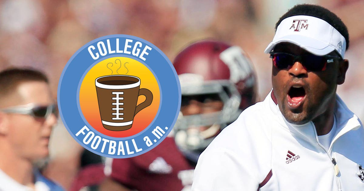 promo code b90d1 f3e10 CFB AM Aggies go crazy when Sumlin cancels practice for movies  FOX Sports