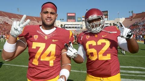 7. Khaliel Rodgers, OL, USC