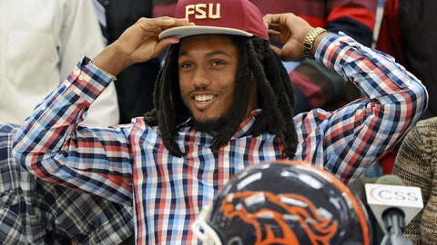 14. Ermon Lane, Travis Rudolph, WRs, Florida State