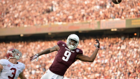 9. Ricky Seals-Jones, Speedy Noil, WRs, Texas A&M