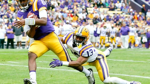 27. Brandon Harris, QB, LSU
