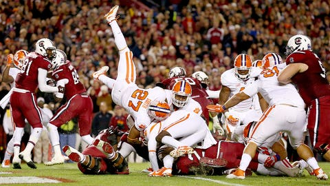 14. South Carolina at Clemson (Nov. 29)