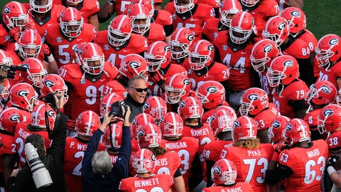 Georgia Bulldogs - Oct. 3 vs. Alabama