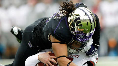 LB: Hau'oli Kikaha, Washington (2nd: Eric Kendricks, UCLA)