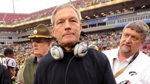 Is Kirk Ferentz actually on the hot seat?