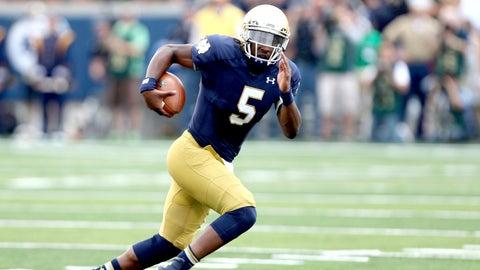 Winner: Everett Golson, QB, Notre Dame