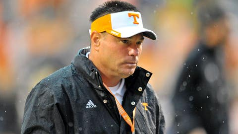 Tennessee won't gain positive rushing yards