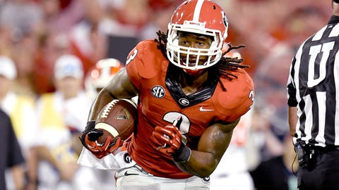 Todd Gurley will rush for fewer than 40 yards