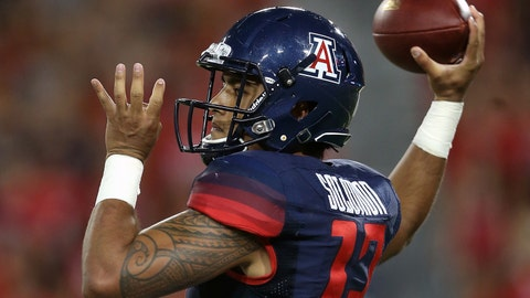 Across the field: Wildcats QB Anu Solomon