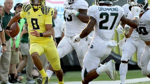 Winner: Marcus Mariota, QB, Oregon
