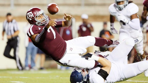 Texas A&M Aggies — QB competition