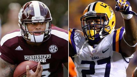 Mississippi State at LSU, 7 p.m. ET
