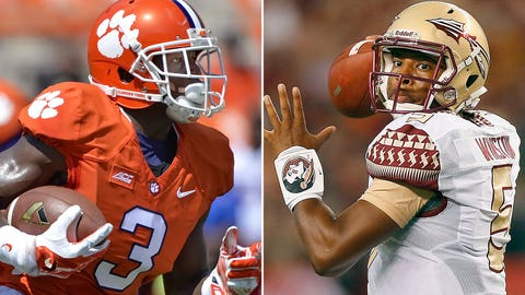 Clemson at Florida State, 8 p.m. ET