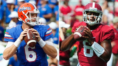 Florida at Alabama, Saturday, 3:30 p.m. ET