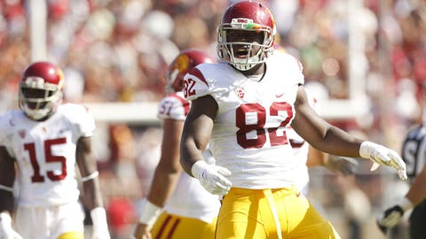 USC TE Randall Telfer; Browns (6th Round, 198th overall)