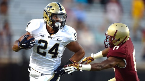 Pittsburgh Panthers: 6.5 wins (2014 record: 6-7)