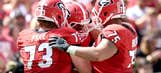 UGA freshman Allen already has history with teammate on the O-line