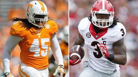 Tennessee at Georgia, Saturday, Noon ET, ESPN