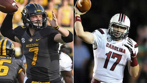 Missouri at South Carolina, 7 p.m. ET, ESPN