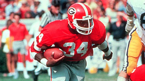 1981 - Freshman star leads UGA to the national title