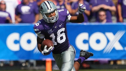 AP: Tyler Lockett, Kansas State (2nd: Tyreek Hill, Oklahoma State)