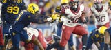 Powerful Perine disappointed coaches wouldn't let him hit anybody