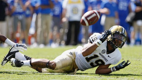 Vanderbilt Commodores — receivers