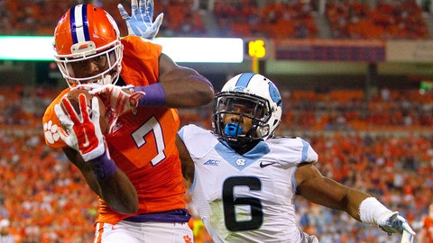 Atlantic Receiving: Mike Williams, Junior, Clemson (1,030 yards)