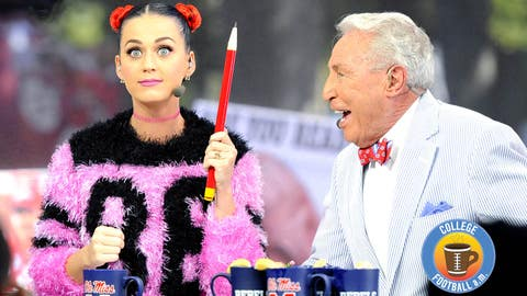 Katy Perry joins 'College Gameday'