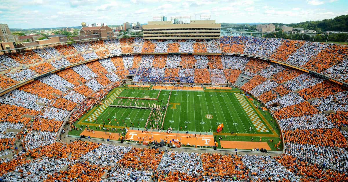 Tennessee Announces Checkerboard Neyland Campaign For Ou